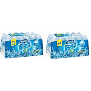 Nestle Pure Life Purified Water 16.9 Oz (Pack of 48)