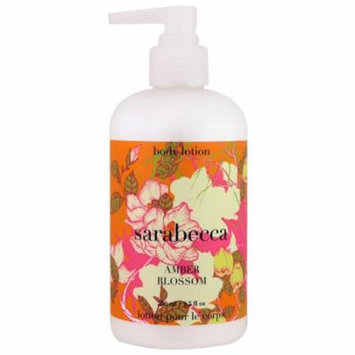 Sarabecca, Body Lotion, Amber Blossom, 9.5 fl oz(pack of 4)