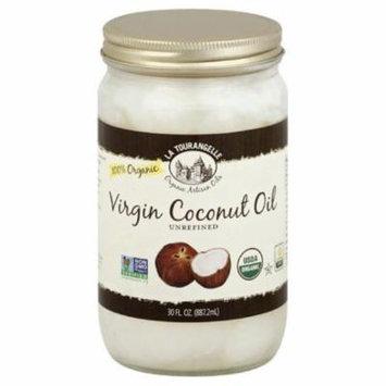La Tourangelle Unrefined Virgin Coconut Oil, 30 Fo (Pack of 6)