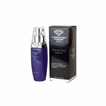 La Femme Actuelle Diamond V.S.P Eye Lifting Creamy Serum - Helps Refine, Hydrate, Lift and Smooth the Delicate Skin Surrounding Your Eyes - 1.22 Oz