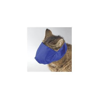 Soft Adjustable Cat Muzzles Perfect For Grooming Three Colors and Muzzle Sizes(Large Blue)