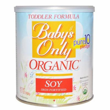 Nature's One, Baby's Only, Organic Toddler Formula, Soy, 12.7 oz(pack of 4)