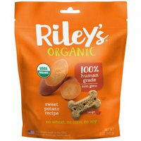 Riley's Organics, Dog Treats, Large Bone, Sweet Potato Recipe, 5 oz (pack of 1)
