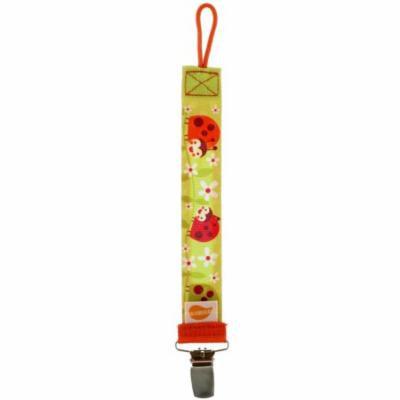 Ulubulu, Universal Pacifier Clip, Ladybug, 1 Piece(pack of 6)