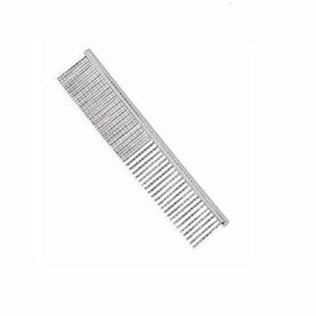 Professional Dog Grooming Greyhound Combs for Dogs Chrome Comb - Choose Size (Face/Finishing Comb)