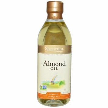 Spectrum Naturals, Almond Oil, Refined, 16 fl oz(pack of 6)