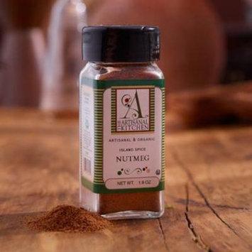 The Artisanal Kitchen Organic Island Spice Nutmeg - 1.9oz