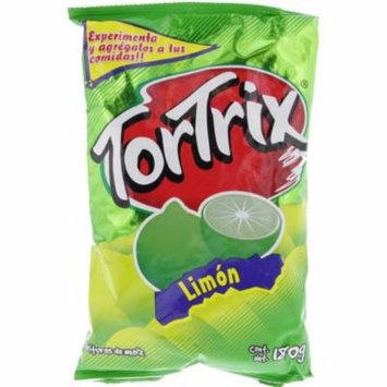 Tortrix Lime Flavored Chips 6.3oz - Limon Chips (Pack of 32)