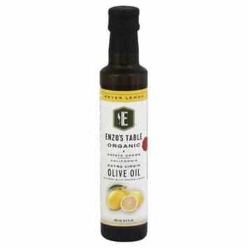 Enzos Table Meyer Lemon Extra Virgin Organic Olive Oil, 250 Ml (Pack of 6)