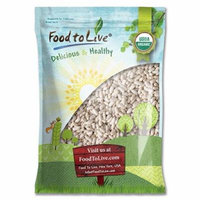 Organic Cannellini Beans by Food to Live (Raw, Dried, Non-GMO, White Kidney Beans in Bulk, Product of the USA) — 15 Pounds