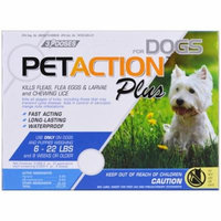 Pet Action Plus, For Small Dogs, 3 Doses - 0.023 fl oz(pack of 4)