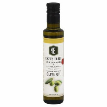 Enzos Table Extra Virgin Organic Olive Oil, 250 Ml (Pack of 6)