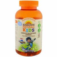 Sundown Naturals Kids, Complete Multivitamin Gummies, Miles from Tomorrowland, Grape, Orange & Cherry Flavored, 180 Gummies(pack of 1)