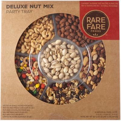 Rare Fare Foods Holiday Nut Variety Tray, 33.25 Ounce