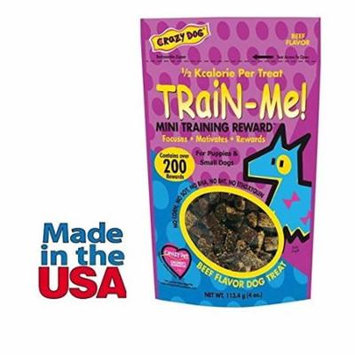 Dog Training Mini Treat Pack Beef Flavor Rewards For Puppies Small Breed Dogs(One Pack)
