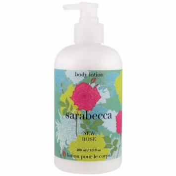 Sarabecca, Body Lotion, New Rose, 9.5 fl oz(pack of 4)