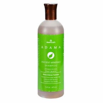 Zion Health Adama Ancient Minerals Peach Jasmine Shampoo 16 oz, 2 Pack