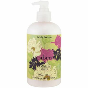 Sarabecca, Body Lotion, Vanilla Spice, 9.5 fl oz(pack of 1)