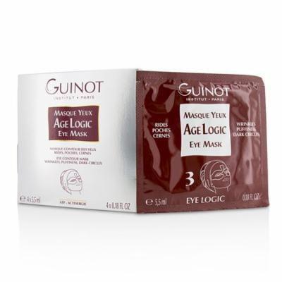 Guinot Masque Yeux Age Logic Eye Contour Mask - 4x5.5ml/0.18oz
