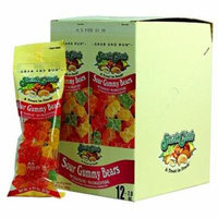 Product Of Snak Club , Sour Gummy Bears - Tube, Count 12 - Sugar Candy / Grab Varieties & Flavors
