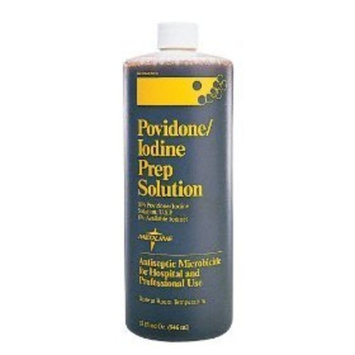 Medline MDS093941H Povidone Iodine Prep Solutions