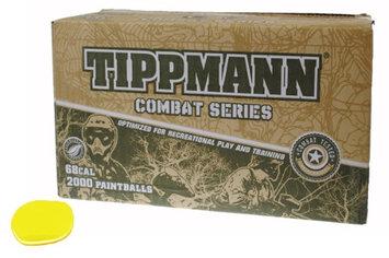 Gi Sportz TIPPMANN COMBAT SERIES Paintballs Case of 2000 Rounds - YELLOW FILL