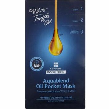 Leaders, Insolution, Aquablend Oil Pocket Mask, Moisture, 1 Mask, 27 ml(pack of 12)