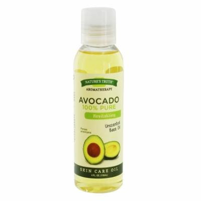 Natures Truth Aromatherapy 100% Pure Skin Care Avocado Oil, Unscented, 4 Oz, 6 Pack