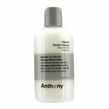 Anthony Logistics For Men Glycolic Facial Cleanser - For Normal/ Oily Skin - 237ml/8oz
