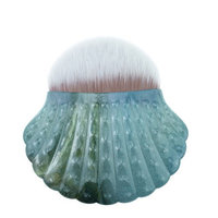 KaiCran makeup brush Foundation Powder Makeup Brushes Shell Contour Powder Blush Brush Tools