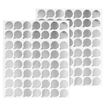 100pcs Eyelash Extension Adhesive Glue Stickers for Pallet or Jade Stone Application of Temporary False Lashes