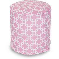 Majestic Home Goods Links Small Pouf