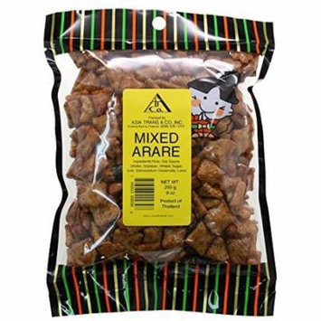 Mix Arare Rice Crackers, 9 Ounce by Asia Trans & Co.