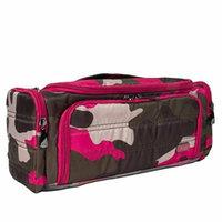 Lug Women's Trolley Toiletry Case, Camo Pink