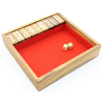 Winshare Puzzles & Games Shut The Box (Large) - Classic Game
