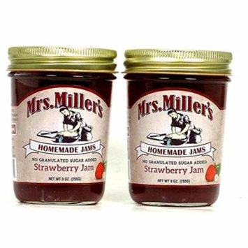 Mrs. Millers No Sugar Strawberry Jam - 2 pk.