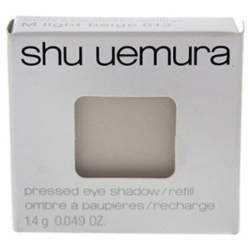 Shu Uemura Pressed Eye Shadow, 813 M Light Beige (refill), 0.049 Ounce
