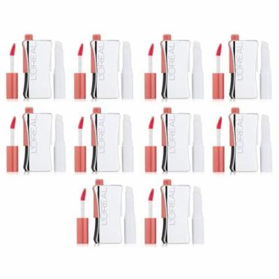 L'Oreal Infallible Never Fail Lipcolour, 500 Thistle (Pack of 10) + 3 Count Eyebrow Trimmer