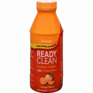 Detoxify One Source Ready Clean Herbal Cleanse - Orange Flavor - 16 Oz