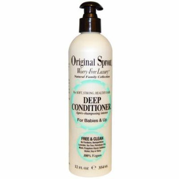 Original Sprout Inc, Deep Conditioner, For Babies & Up, 12 fl oz (pack of 3)