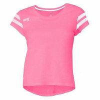 Soffe 2704G685MED Girls Gym Class Tee, Cotton Candy - Medium
