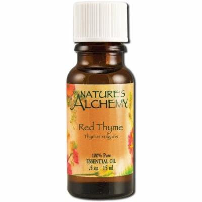 2 Pack - Nature's Alchemy Essential Oil, Red Thyme 0.5 oz