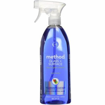 3 Pack - Method Glass & All Surface Cleaner, Mint 28 oz