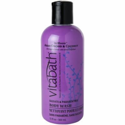 Vitabath Body Wash Asian Orchid & Coconut 12 oz