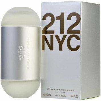 3 Pack - 212 By Carolina Herrera Eau de Toilette Spray for Women 3.4 oz