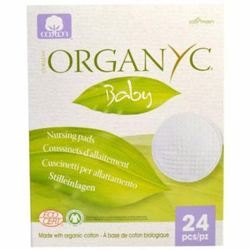 Organyc, Baby, Nursing Pads, 24 Pieces(pack of 4)
