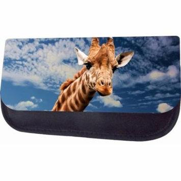 Giraffe In The Sky Jacks Outlet TM Nylon-Lined Cosmetic Case
