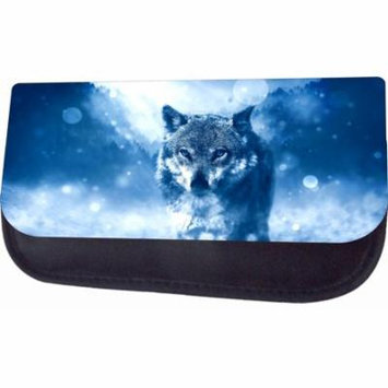 Arctic Wolf Jacks Outlet TM Nylon-Lined Cosmetic Case