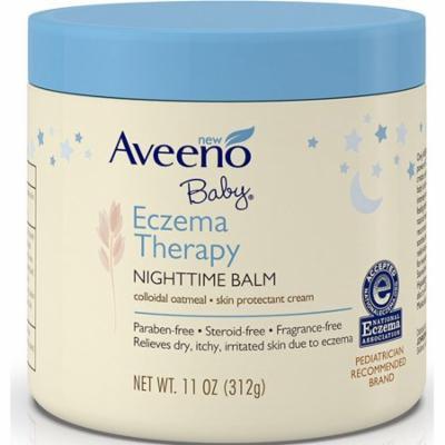 4 Pack - AVEENO Baby Eczema Therapy Nighttime Balm 11 oz