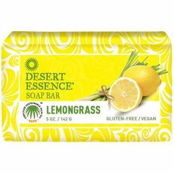 4 Pack - Desert Essence Soap Bar, Lemongrass 5 oz